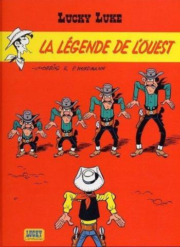Couverture de l'album Lucky Luke - 72. La Légende de l'Ouest