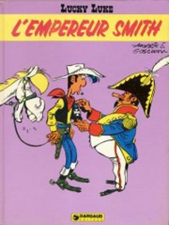 Couverture de l'album Lucky Luke - 45. L'Empereur Smith