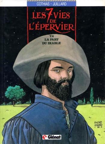Couverture de l'album Les 7 Vies de l'Épervier - 6. La Part du diable