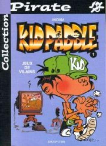 Couverture de l'album Kid Paddle - 1. Jeux de vilains