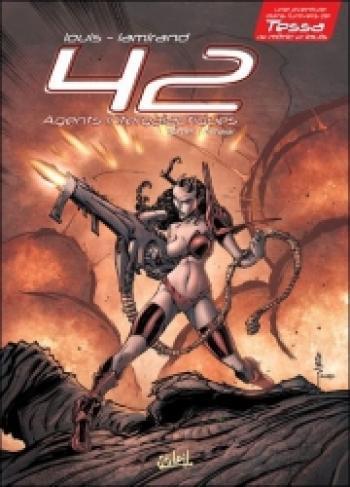 Couverture de l'album 42 Agents intergalactiques - 1. Nitaar