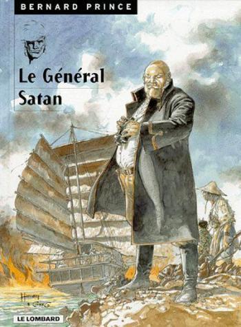 Couverture de l'album Bernard Prince - 1. Le Général Satan