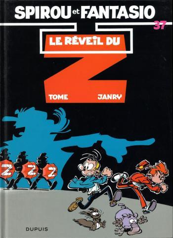 Couverture de l'album Spirou et Fantasio - 37. Le Réveil du Z