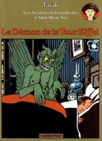 Couverture de l'album Les Aventures extraordinaires d'Adèle Blanc-Sec - 2. Le démon de la tour Eiffel