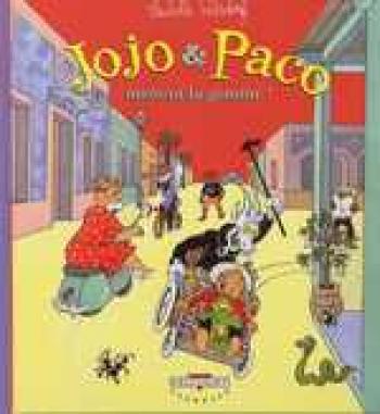 Couverture de l'album Jojo et Paco - 2. Jojo et Paco mettent la gomme