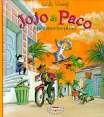 Couverture de l'album Jojo et Paco - 4. Jojo et Paco brouillent les pistes