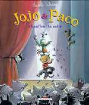 Couverture de l'album Jojo et Paco - 8. Jojo et Paco chauffent la salle