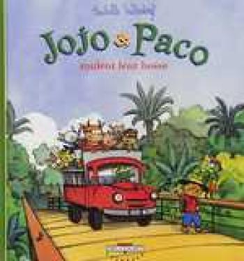 Couverture de l'album Jojo et Paco - 9. Jojo et Paco roulent leur bosse