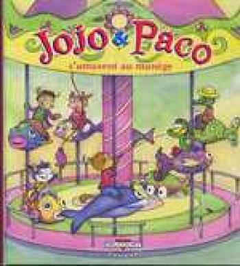 Couverture de l'album Jojo et Paco - 11. Jojo et Paco s'amusent au manège