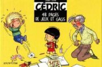 Couverture de l'album Cédric - HS. 48 pages de jeux et de gags