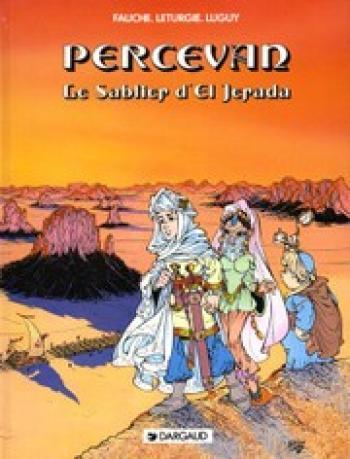 Couverture de l'album Percevan - 5. Le Sablier d'El Jarada