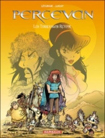Couverture de l'album Percevan - 13. Les Terres sans retour