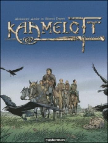 Couverture de l'album Kaamelott - INT. Coffret Kaamelott, Tomes 1 à 3