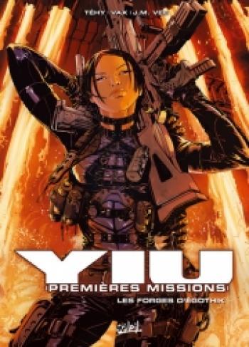 Couverture de l'album Yiu - Premières missions - 7. Les forges d'Egothik