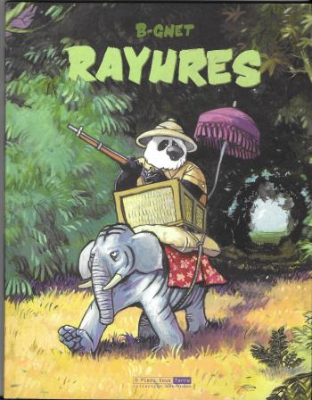 Couverture de l'album Rayures (One-shot)