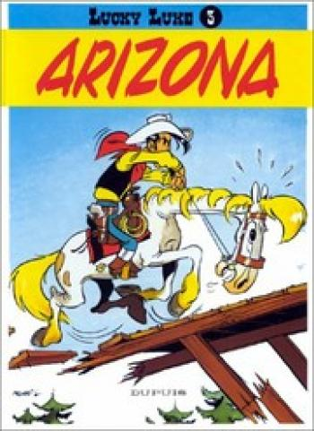 Couverture de l'album Lucky Luke - 3. Arizona