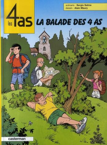 Couverture de l'album Les 4 As - 43. La Balade des 4 As