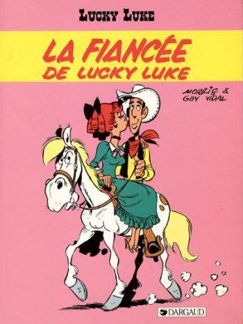 Couverture de l'album Lucky Luke - 54. La Fiancée de Lucky Luke