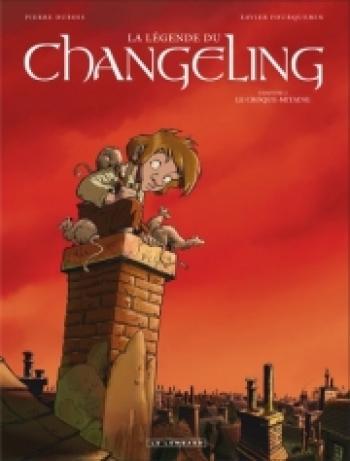 Couverture de l'album La légende du Changeling - 2. Le croque-mitaine