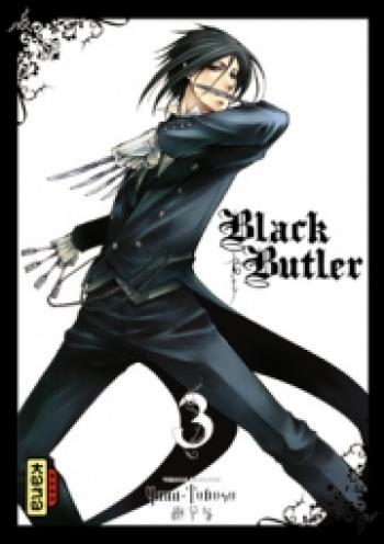 Couverture de l'album Black Butler - 3. Black Ninja