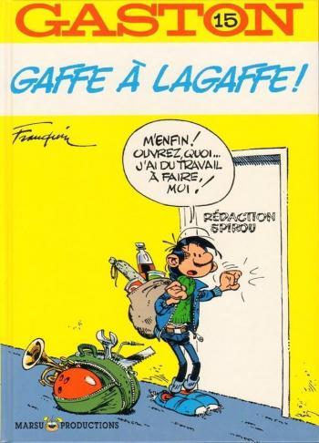 Couverture de l'album Gaston (Série dite classique) - 15. Gaffe à Lagaffe !