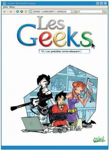 Couverture de l'album Les Geeks - 5. Les geekettes contre-attaquent