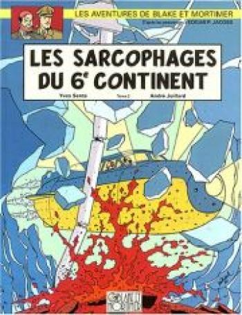 Couverture de l'album Blake et Mortimer (Blake et Mortimer) - 17. Les Sarcophages du 6e continent II - Le Duel des esprits