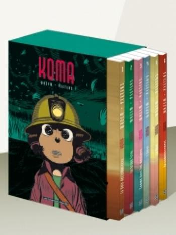 Couverture de l'album Koma - COF. Coffret Koma, Tomes 1 à 6