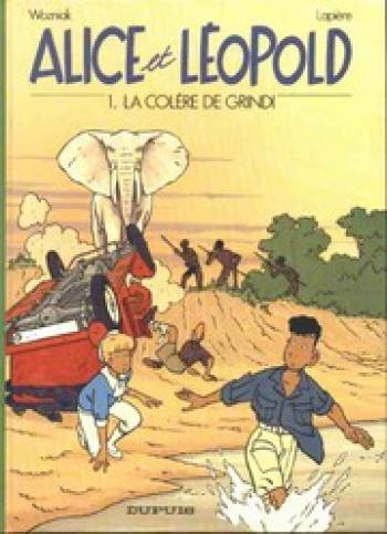 Couverture de l'album Alice et Léopold - 1. La colère de Grindi