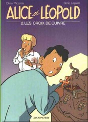 Couverture de l'album Alice et Léopold - 2. Les croix de cuivre