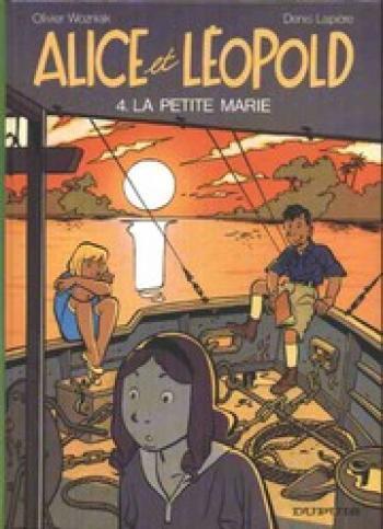 Couverture de l'album Alice et Léopold - 4. La petite Marie