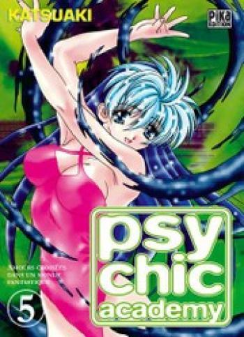 Couverture de l'album Psychic academy - 5. Amours croisées dans un monde fantastique (4)