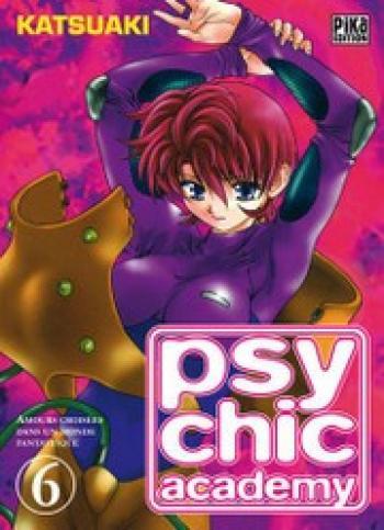 Couverture de l'album Psychic academy - 6. Amours croisées dans un monde fantastique (5)