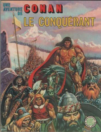 Couverture de l'album Une aventure de Conan - 4. Conan le conquérant