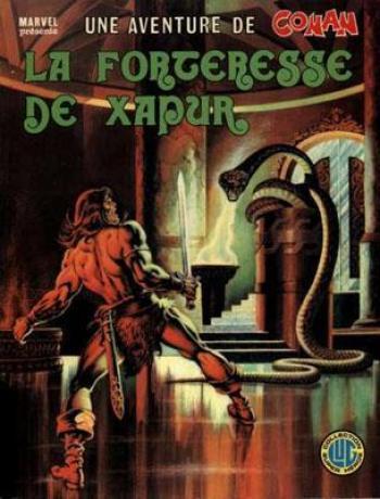 Couverture de l'album Une aventure de Conan - 7. La Forteresse de Xapur