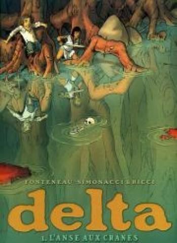 Couverture de l'album Delta - 1. L'anse aux crânes