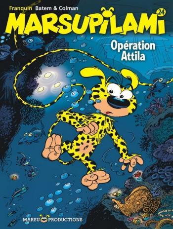 Couverture de l'album Marsupilami - 24. Opération Attila