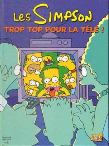 Couverture de l'album Les Simpson (Jungle) - 14. Trop top pour la télé !