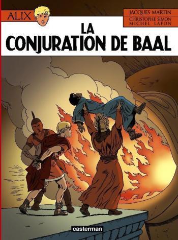 Couverture de l'album Alix - 30. La Conjuration de Baal