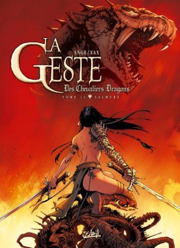 Couverture de l'album La Geste des Chevaliers Dragons - 13. Salmyre
