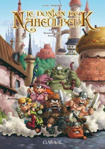 Couverture de l'album Le Donjon de Naheulbeuk - 9. Troisième saison - Partie 3