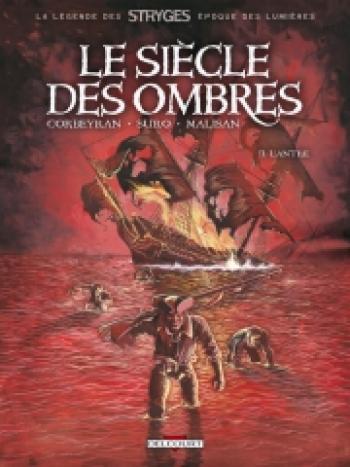 Couverture de l'album Le Siècle des ombres - 2. L'Antre