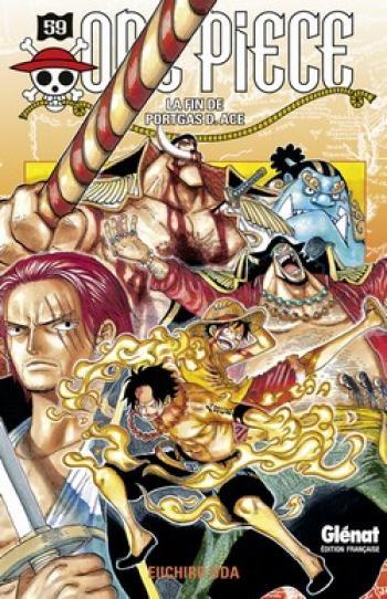 Couverture de l'album One Piece - 59. La fin de Portgas D. Ace