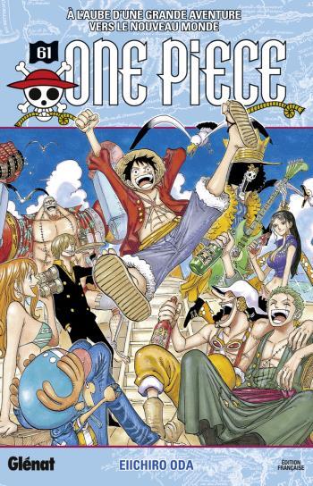 Couverture de l'album One Piece - 61. A l'aube d'une grande aventure vers le nouveau monde