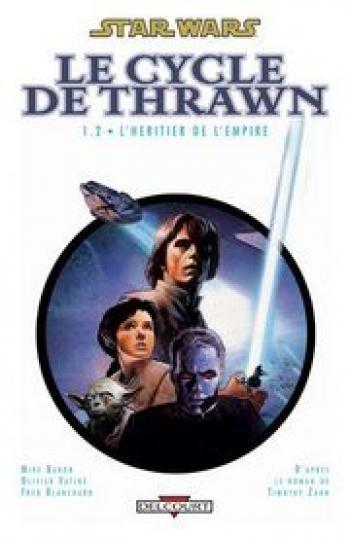 Couverture de l'album Star Wars - Le Cycle de Thrawn - 2. L'Héritier de l'Empire 1.2