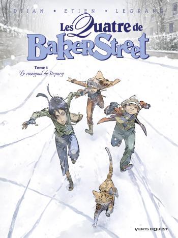 Couverture de l'album Les Quatre de Baker Street - 3. Le Rossignol de Stepney