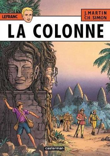 Couverture de l'album Lefranc - 14. La Colonne
