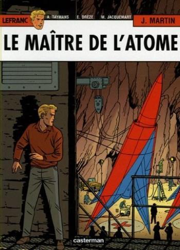 Couverture de l'album Lefranc - 17. Le Maître de l'atome