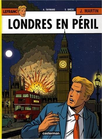Couverture de l'album Lefranc - 19. Londres en péril