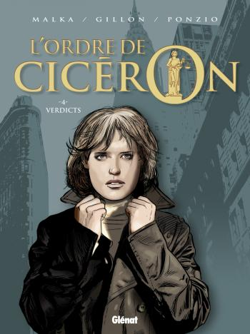 Couverture de l'album L'Ordre de Cicéron - 4. Verdicts